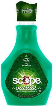 Scope Outlast Long Lasting Mint Flavor Mouthwash 1.25L Bottle
