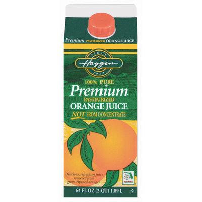Haggen Not from Concentrate Orange Juice 64 Oz Carton
