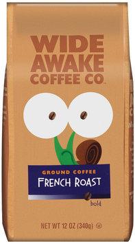 Wide Awake Coffee Company French Roast Bold Ground Coffee 12 Oz Stand Up Bag