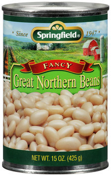 Springfield® Fancy Great Northern Beans 15 oz. Can