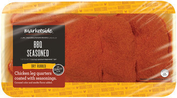 Marketside™ BBQ Seasoned Dry Rubbed Chicken Leg Quarters Coated with Seasonings