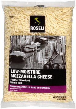 Roseli™ Feather Shredded Low-Moisture Mozzarella Cheese 5 lb. Bag