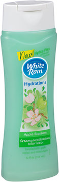 White Rain® Hydrations Apple Blossom Creamy Moisturizing Body Wash 12 fl. oz. Bottle