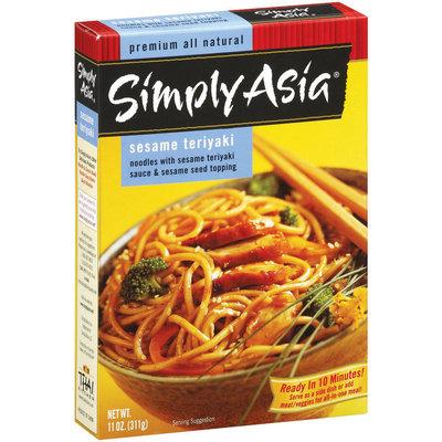 Simply Asia SA Sesame Teriyaki Noodles Noodles & Sauce 11 Oz Box