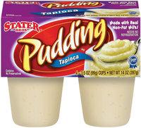 Stater Bros. Tapioca Pudding 4 Ct Cups