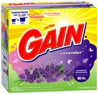 Gain with FreshLock Lavender Powder Detergent 91 oz. Carton