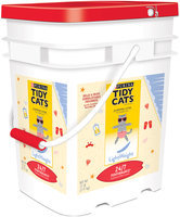 Purina Tidy Cats LightWeight 24/7 Performance Clumping Cat Litter for Multiple Cats 17 lb. Pail