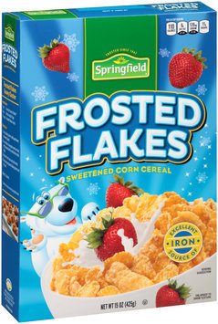 Springfield® Frosted Flakes Cereal 15 oz. Box