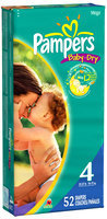 Pampers Baby Dry Size 4 Mega Pack Diapers 52 ct Bag