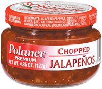 Polaner Chopped Premium Jalapenos 4.25 Oz Jar
