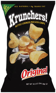 Krunchers!® Kettle Cooked Potato Chips Original 8.5 oz.