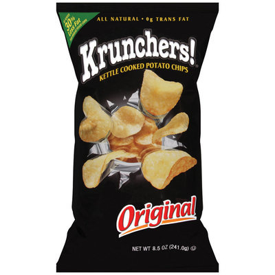 Krunchers!® Kettle Cooked Potato Chips Original 8.5 oz.