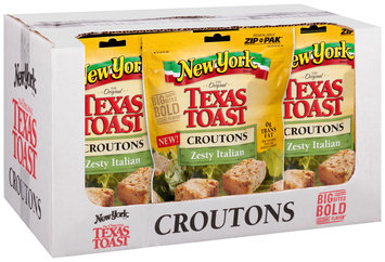 New York Brand® Texas Toast Zesty Italian Croutons 5 oz.