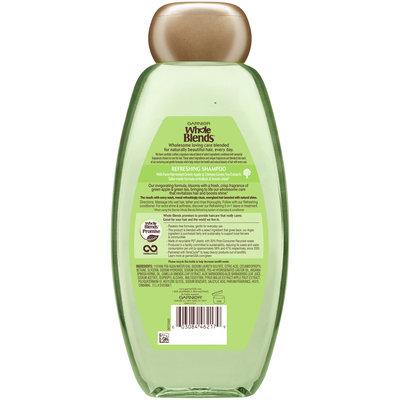 Garnier® Whole Blends™ Green Apple & Green Tea Extracts Refreshing Shampoo 22 fl. oz. Bottle