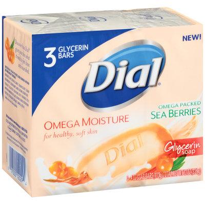 Dial® Omega Moisture Sea Berries Glycerin Soap
