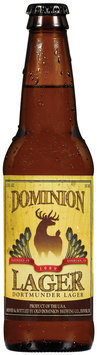 Dominion 12 Oz Dortmunder Lager Beer   Glass Bottle
