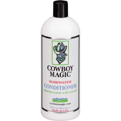 Cowboy Magic® Rosewater Conditioner 32 fl. oz. Squeeze Bottle