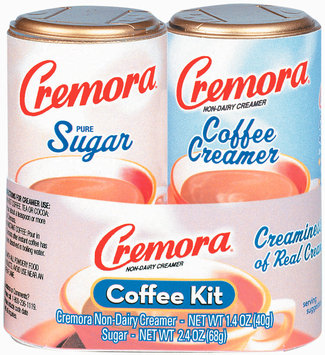 Cremora Original/Sugar Combo 2.4 Oz Coffee Kit 2 Ct Mini Canister