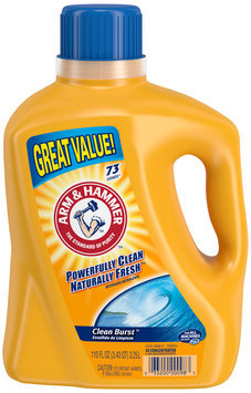 Arm & Hammer™ Clean Burst™ Detergent 110 fl. oz. Jug