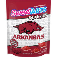 SWEETARTS Gummies University of Arkansas Recloseable 8 oz. Bag