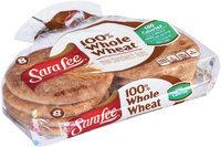 Sara Lee® 100% Whole Wheat Thin Sandwich Rolls 8 ct Bag