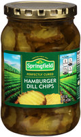 Springfield® Hamburger Dill Chips 16 fl. oz. Jar
