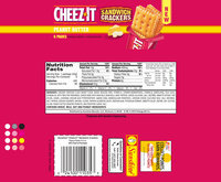 Cheez-It® Peanut Butter Sandwich Crackers 6-1.48 oz. Packs