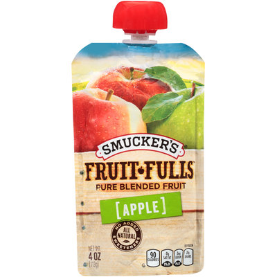Smucker's® Fruit-Fulls™ Apple Pure Blended Fruit 4 oz. Pouch