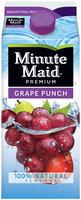 Minute Maid® Premium Grape Punch 59 fl. oz. Carton