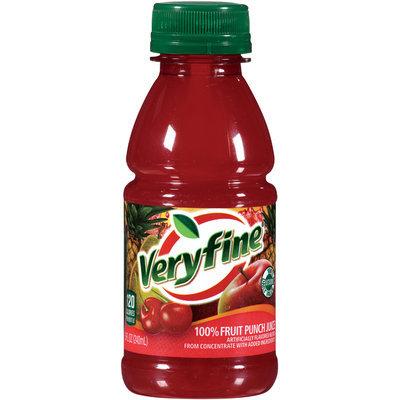 Veryfine® 100% Fruit Punch Juice 8 oz