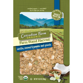 Cascadian Farm™ Organic Farm Stand Harvest Vanilla, Coconut & Pumpkin Seed Granola 11 oz. Pouch