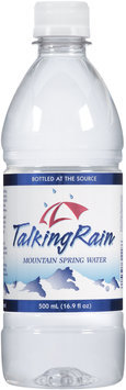 Talking Rain® Mountain Spring Water 16.9 fl. oz. Plastic Bottle