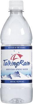 Talking Rain® Mountain Spring Water 16.9 fl. oz. Plastic Bottle