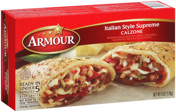 Armour® Italian Style Supreme Calzone 6 oz. Box