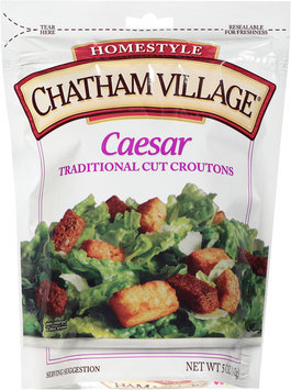 Chatham Village® Caesar Traditional Cut Croutons 5 oz. Bag