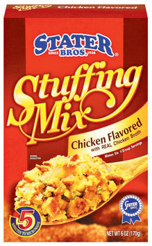 Stater Bros. Chicken Flavored Stuffing Mix 6 Oz Box