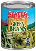 Stater Bros. Cut Green Beans 8 Oz Can