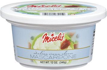 Miceli's Mascarpone Italian Cream Cheese 12 Oz Tub