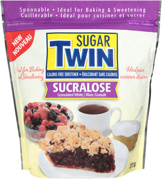 Sugar Twin® Granulated White Sucralose Sweetener 275g Bag
