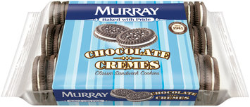 Murray® Chocolate Cremes Sandwich Cookies 13 oz. Tray