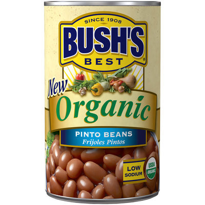Bush's Best® Organic Pinto Beans 15 oz. Can