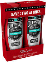 Dirt Destroyer Old Spice Hardest Working Collection Dirt Destroyer Body Wash Pure Sport Plus Scent Twin Pack 16 Fl oz
