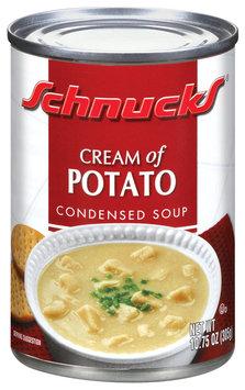 Schnucks Condensed Cream of Potato Soup 10.75 Oz Can