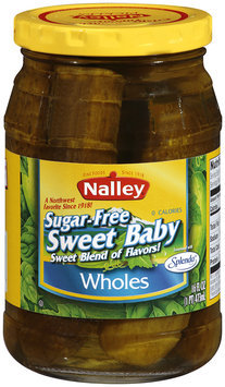 Nalley®Sweet Baby Wholes Sugar-Free 16 fl oz Jar