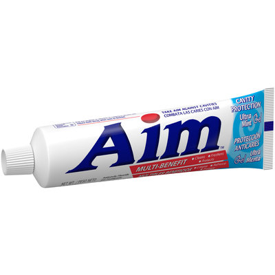 Aim™ Multi-Benefit Cavity Protection Ultra Mint Gel Toothpaste 6.6 oz. Box
