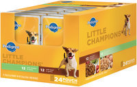 Archived Pedigree Little Champions 12 With Chicken In Gravy & 12 With Beef In Gravy Wet Dog Food 24 Ct Pack