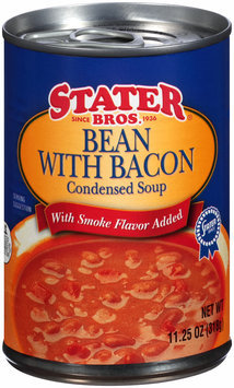 Stater Bros.® Bean with Bacon Condensed Soup 11.25 oz. Can