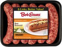 Bob Evans® Beer Bratwurst Links 6 ct 19 Oz Tray