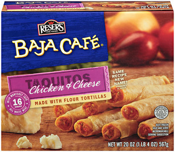 Baja Cafe® Chicken and Cheese Taquitos 16 ct Box