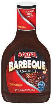 Stater Bros. Original Barbeque Sauce 18 Fl Oz Plastic Bottle